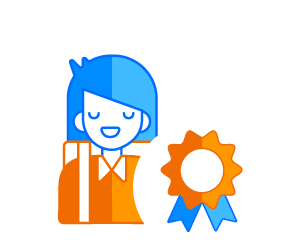 Student prize icon