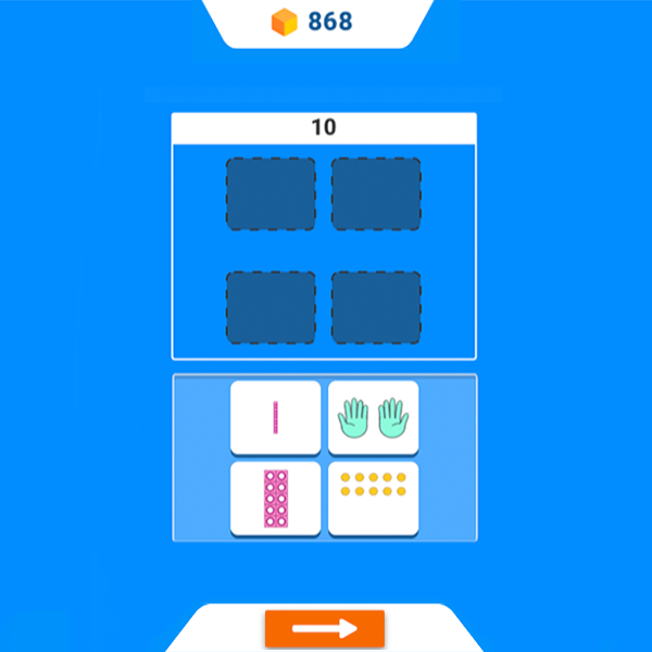 Sort categories by counting