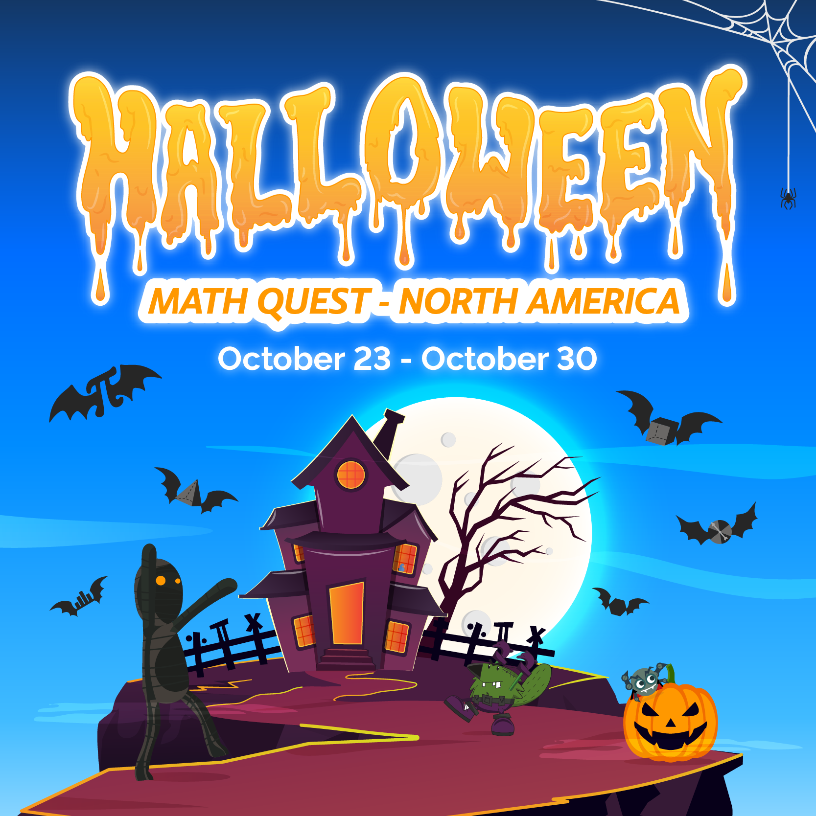Halloween Math Quest - North America