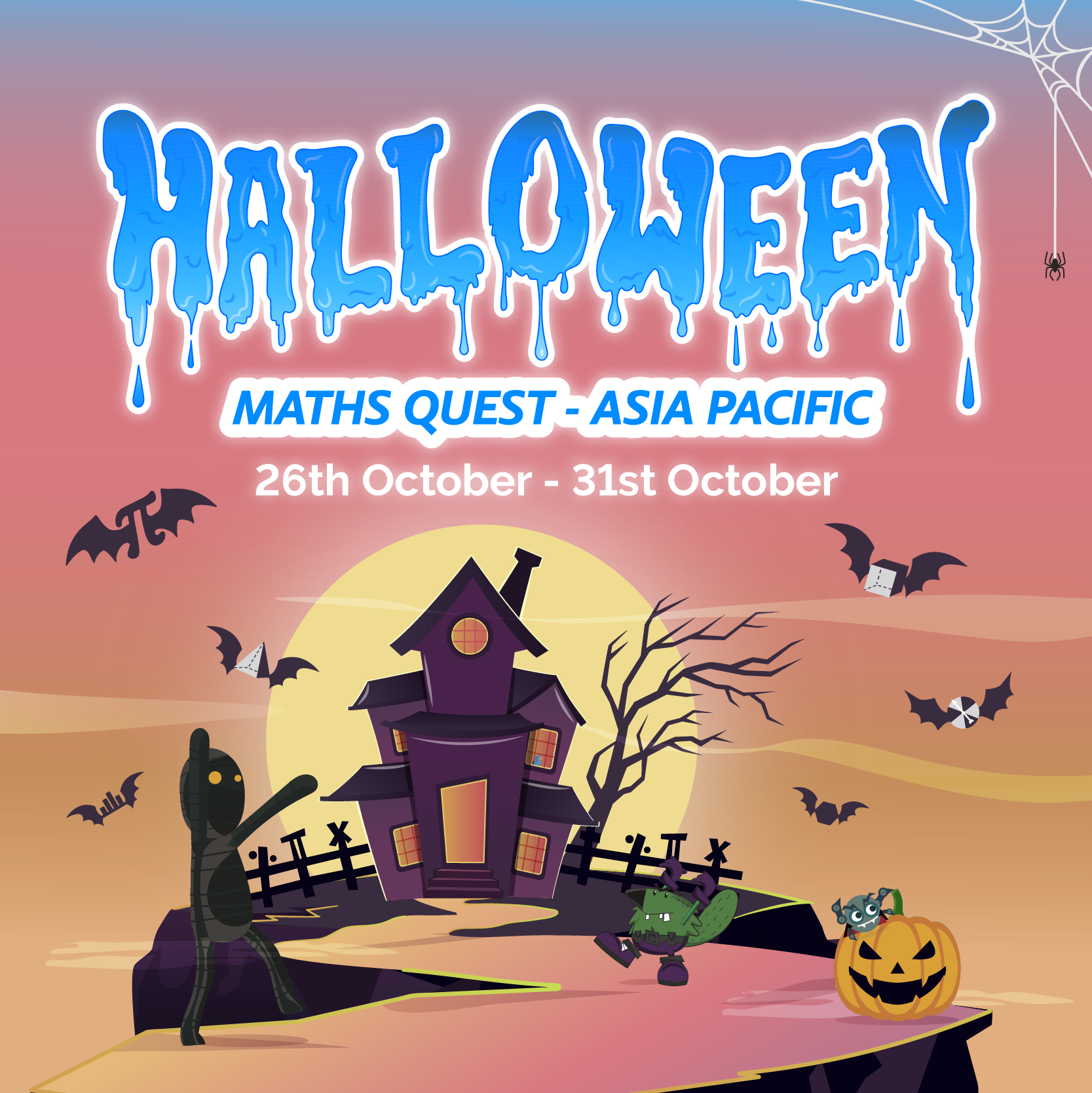 Halloween Maths Quest - Asia Pacific