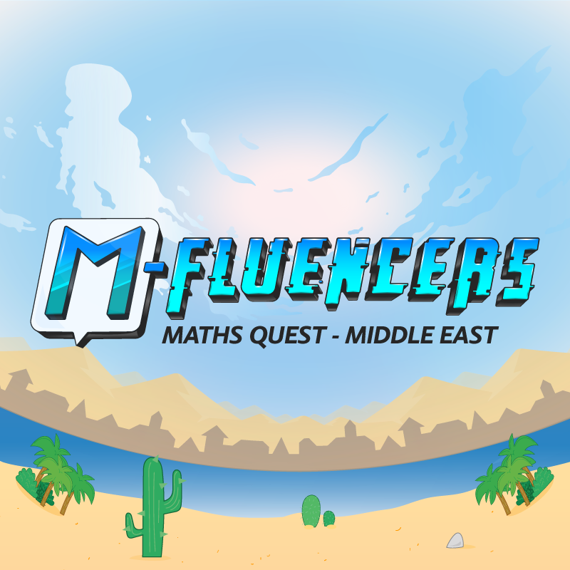 M-Fluencers Math Quest: Middle East