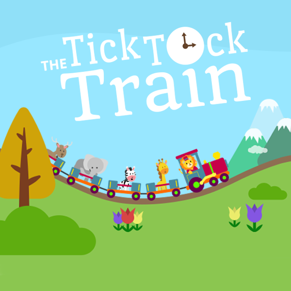 Tick Tock Train - Telling the time
