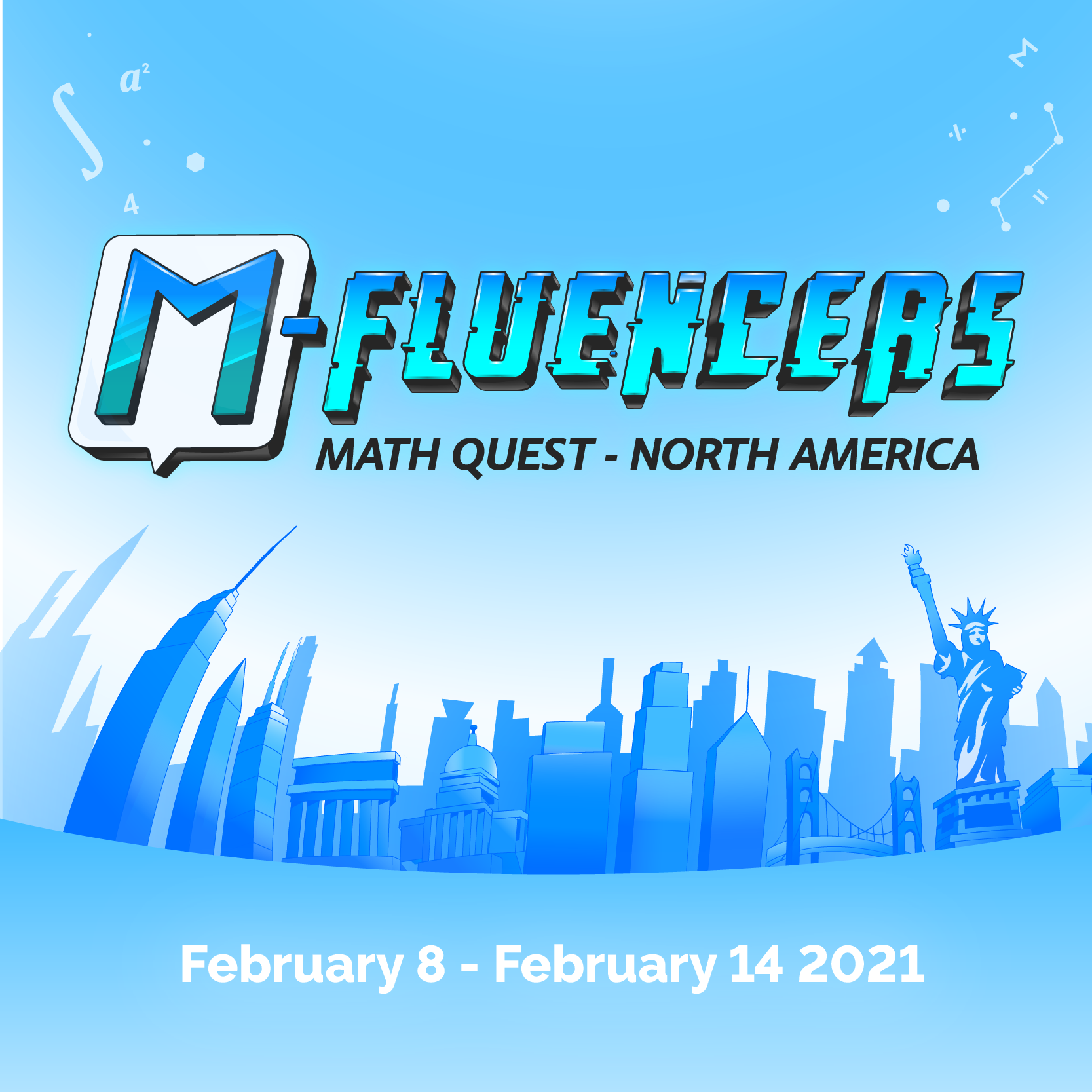 M-Fluencers Math Quest - North America